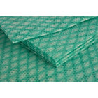 General purpose cleaning cloths green pack of 50