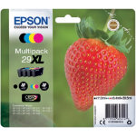 Epson 29XL Original Ink Cartridge C13T29964012 Black 3 Colours Pack 4