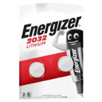 Energizer Batteries Lithium CR2032 Pack 2