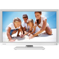 Toshiba 22D1334B 22-inch Widescreen 1080p Full HD LED TV with Built-In DVD Player