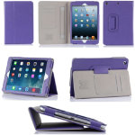 Purple PU Case for iPad Mini