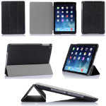 Black PU Case for iPad Air