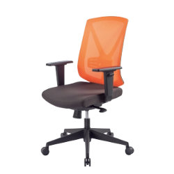 Rs soho karl mesh office chair in orange by viking - Viking office desk ...