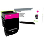 Lexmark 802HM Magenta High Yield Return Program Toner Cartridge