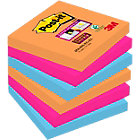 Post it Super Sticky Notes Bangkok Collection 76mm x 76mm 6 pads per pack