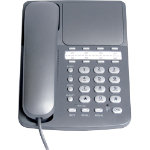 Radius 150 Corded Business Phone Silver Grey