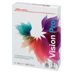 Office Depot Vision Pro Printer Paper A4 90gsm White 500 Sheets