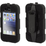 Griffin Survivor Case Black For Iphone 4S