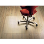 Clear Style polycarbonate chair mat for soft floors 920 x 1220mm