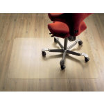 Clear Style polycarbonate chair mat for hard floors 920 x 1220mm