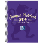 Campus A4 Notebook Purple