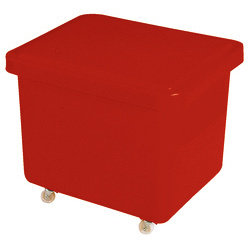 Mini Mobile Truck with Lid Red