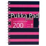 Pukka Navy A5 Jotta Notebook Pink