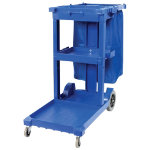 Multi Purpose Janitorial Trolley with Bag