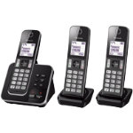Panasonic Dect Cordless Telephone KX TGD323EB Black