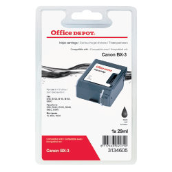 Office Depot Compatible Canon BX3 Black Toner Cartridge