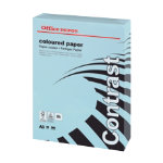 Office Depot A3 Coloured Paper Blue 80gsm 500 Sheets Per Ream