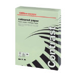 Office Depot A4 Coloured Paper Green 160gsm 250 sheets per Ream