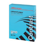 Office Depot A4 Coloured Paper Intense Blue 160gsm 250 Sheets Per Pack