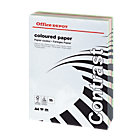 Office Depot A4 Coloured Card Assorted 160gsm 250 Sheets per Ream