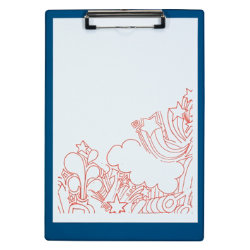 Office Depot A4 Single Clipboard ? Blue