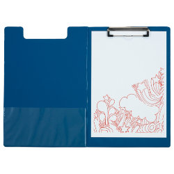 Office Depot A4 Foldover Clipboard  Blue