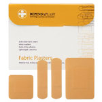 Plasters Fabric Dependaplast Assorted Box of 100