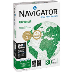 Navigator Universal Printer Paper A3 80gsm White 500 Sheets
