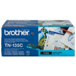 Brother TN 135C high capacity cyan toner cartridge