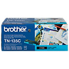 Brother TN 135C Original Toner Cartridge Cyan