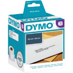 DYMO Address Labels 1982991 89 x 28 mm Black White