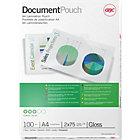 GBC Document Pouches 150 2 x 75Microns 216 x 303mm 100pk
