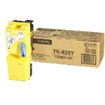 Kyocera TK 825 Original yellow toner cartridge 1T02FZAEU0