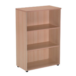 RS to Go RS to-go Low office storage bookcase beech effect