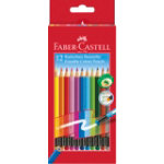 Faber Castell Erasable Colouring Pencils Pack of 12