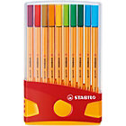 Stabilo Point 88 ColorParade Fineliner Pens Assorted Pack 20