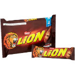 Nestle Chocolate Lion Bar 4 Pieces