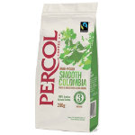 Percol Fairtrade Colombia Ground Coffee 200 g
