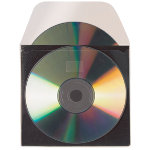 3L Self adhesive CD DVD Pockets with protective inlay pack 10