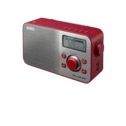 Sony Radio Tuner XDRS60 Red