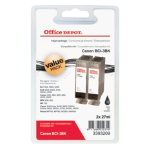 Office Depot Compatible Canon BCI 3E Ink Tank Twin Pack Black