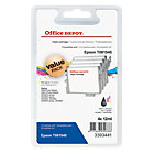 Office Depot Compatible Epson T061540 Black Cyan Magenta Yellow Inkjet Cartridge