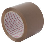 Office Depot Industrial Tape Brown 75mm x 66m 4 Rolls Per Pack
