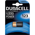 Duracell Ultra DL123 Photo 3V Lithium Camera Battery