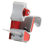 Office Depot Packaging Tape Dispenser Gun Q82 3405122 Grey Red 5 cm
