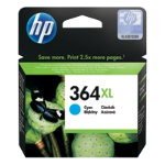 HP 364XL Original Cyan Ink cartridge CB323EE