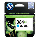 Original HP No364XL high capacity cyan printer ink cartridge