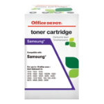 Office Depot Compatible Black Toner Cartridge of Samsung CLP K300A