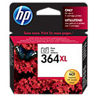 Original HP No364XL high capacity black photo printer ink cartridge CB322EE