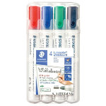 Staedtler Lumocolor Whiteboard Markers Bullet Assorted Pk 4